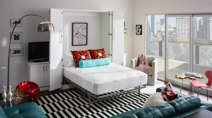 murphy bed design ideas five different areas