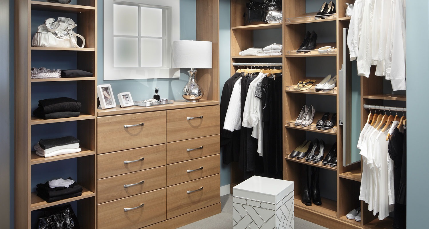 Contemporary Closet System From California Closets