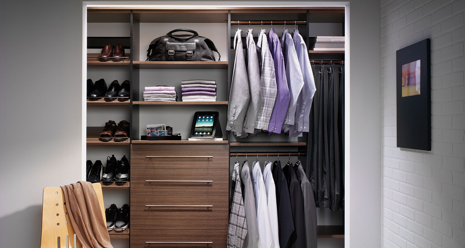 Closet organizers northern virginia storage shelving - Closet ideas small spaces concept ...