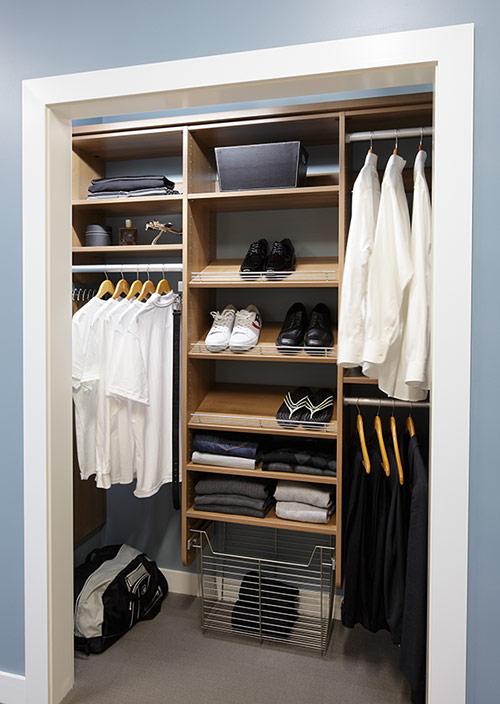 Closet organizers northern virginia storage shelving for Extra closet storage