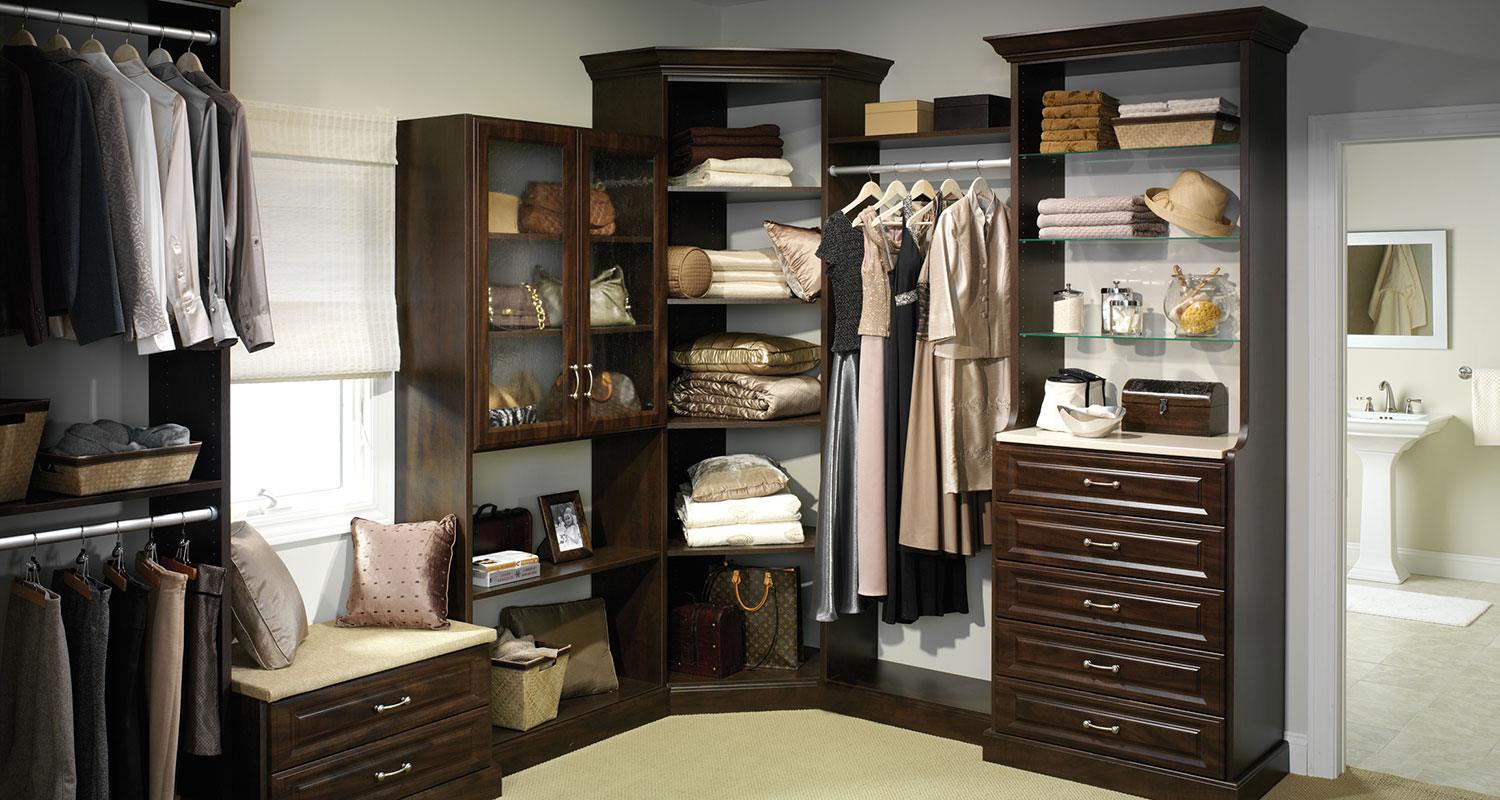 organizing master bedroom closet closet organizers northern virginia storage shelving 16577