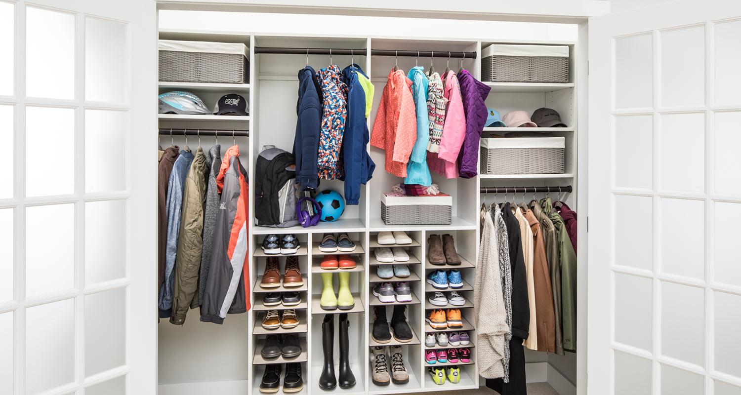 closet design ideas for gainesville home