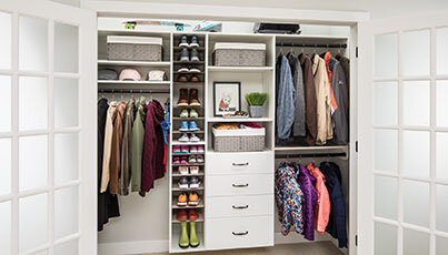 Captivating Ideas To Your Custom Closet