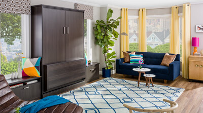home office with murphy bed. The Home Office\u2014Shelves. Murphy Bed Design Ideas Office With