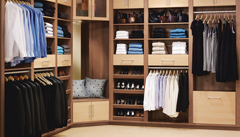 Storage For Custom Closets
