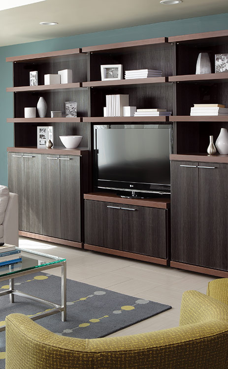 Corner entertainment center ideas